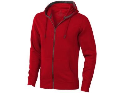 OA90TX-RED15S Elevate. Толстовка Arora мужская с капюшоном, красный