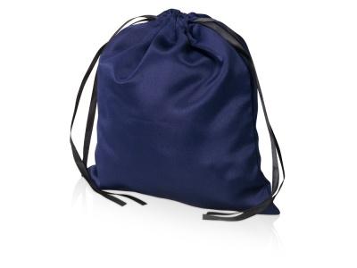 OA2003022400 Мешочек подарочный сатиновый L, темно-синий