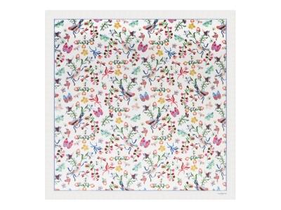 OA2003028438 Cacharel. Шелковый платок Butterfly White