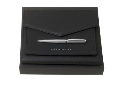 OA2003028549 Hugo Boss. Подарочный набор: конференц-папка А5, ручка шариковая. HUGO BOSS