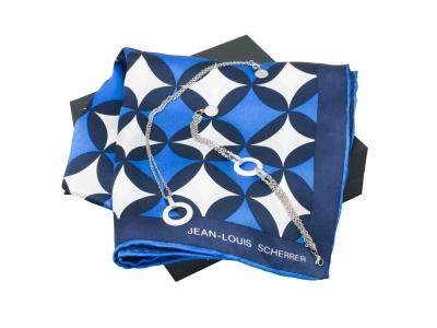 OA200302718 Jean Louis Scherrer. Подарочный набор Boogie: шелковый платок, браслет, колье. Jean-Louis Scherrer