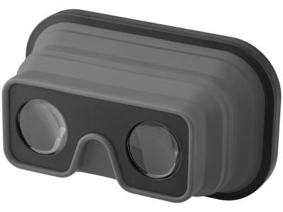 OA1701222240 Складные силиконовые очки виртуальной реальности, серый/черный