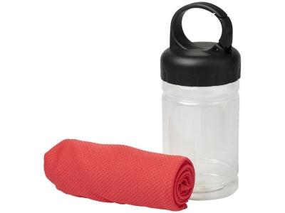 OA2003027785 Охлаждающее полотенце Remy в ПЭТ-контейнере, красный