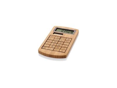 OA80O-BRN1 Калькулятор 8-ми разрядный Eugene, коричневый