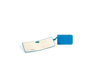 MS14A-LBL1 Moleskine Travelling Collection. Ярлык для багажа Moleskine Luggage Tag, голубой
