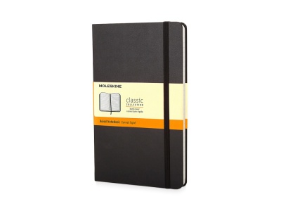 60511107 Записная книжка Moleskine Classic (в линейку) в твердой обложке, Pocket (9x14см), черный