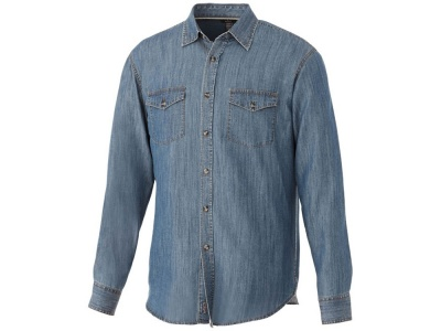 OA183032585 Elevate. Рубашка Sloan с длинными рукавами мужская, джинс