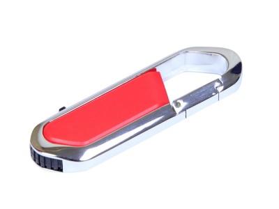 OA2003025463 Флешка в виде карабина, 64 Гб, красный/серебристый