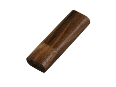 OA2003024936 Флешка эргономичной прямоугольной формы, с округленными краями, дерево, 16 Гб, коричневый