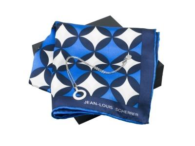 OA200302712 Jean Louis Scherrer. Подарочный набор Boogie: шелковый платок, колье. Jean-Louis Scherrer