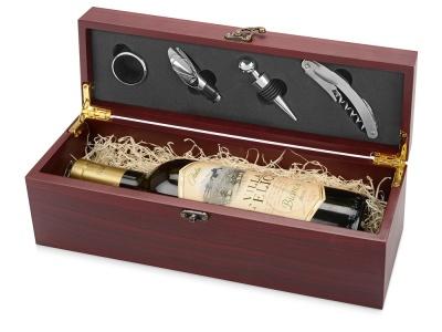 OA82S-BRN52 Набор аксессуаров для вина Венге, коричневый