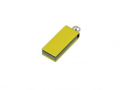 OA2003025414 Флешка с мини чипом, минимальный размер, цветной  корпус, 64 Гб, желтый