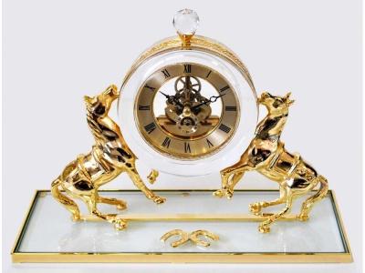 OA170140979 Интерьерные часы Дворцовые, прозрачный/золотистый