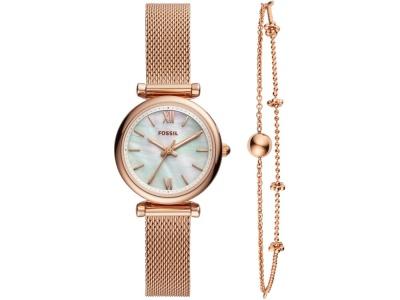 OA2003025472 Fossil. Подарочный набор: часы наручные женские, браслет. Fossil