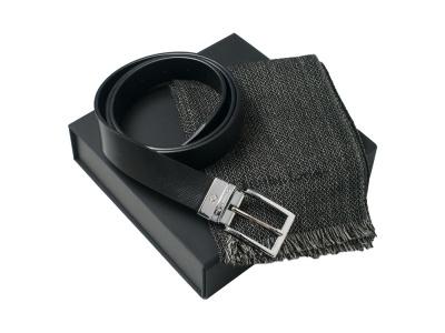 OA2003028572 CHRISTIAN LACROIX. Подарочный набор: шарф шерстяной, ремень. Christian Lacroix