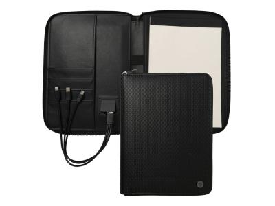 OA2003028505 Hugo Boss. Папка формата А5 + портативное зарядное устройство Epitome Black