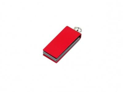 OA2003025411 Флешка с мини чипом, минимальный размер, цветной  корпус, 64 Гб, красный