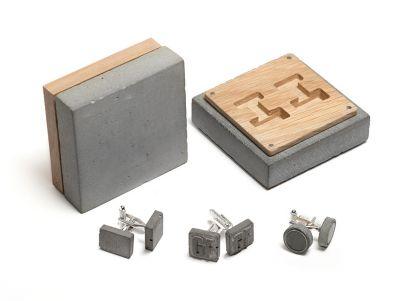 BTBT1805185 запонки в бетонной упаковке