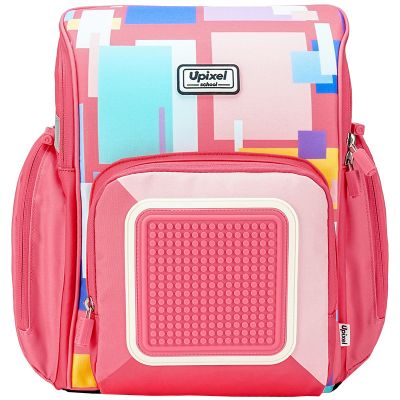 UPWY-U18-7P Upixel Funny Square School Bag. Рюкзак Funny Square School Bag WY-U18-7 Розовый