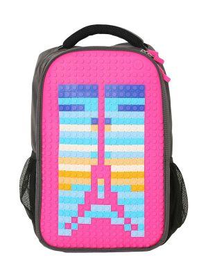 UPWY-A009R Upixel. Пиксельный рюкзак Full Screen Biz Backpack WY-A009 Фуксия