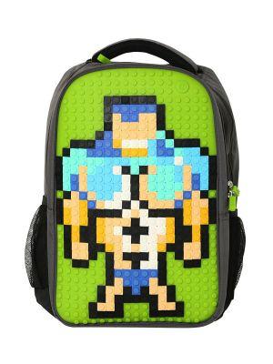 UPWY-A009 Upixel. Пиксельный рюкзак Full Screen Biz Backpack WY-A009 Зеленый