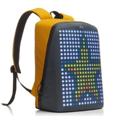 PX1909232 PIX. Рюкзак Pix с LED-экраном желтый
