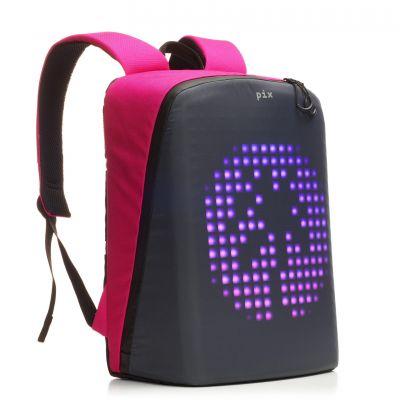 PX1909233 PIX. Рюкзак Pix с LED-экраном розовый