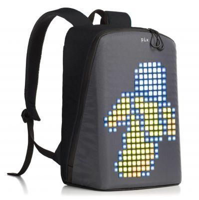 PX1909234 PIX. Рюкзак Pix с LED-экраном черный