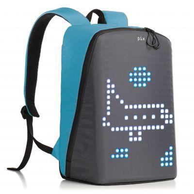 PX1909231 PIX. Рюкзак Pix с LED-экраном голубой