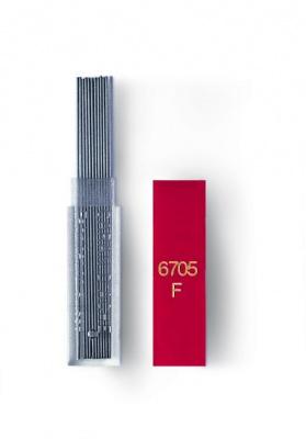 6705.350 Грифели Carandache  0.5мм для механических карандашей туба (12шт)