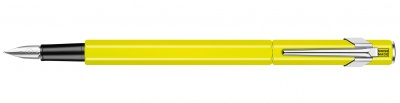 840.470 Перьевая ручка Caran d'Ache Office 849 Fluorescent Yellow перо M