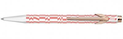 849.123 Шариковая ручка Carandache Office 849 Alexander Girard Pink Check Stripes