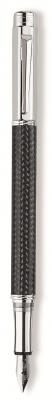 CA1F-BLK29 CARANDACHE Varius. Ручка перьевая Carandache Varius Carbon 3000 SP  F золото 18K с родиевым покрытием подар.к