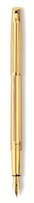 4690.272 Ручка перьевая Carandache Madison Cisele GP  F золото 18K подар.кор.