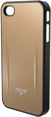 GS184061622 TRU VIRTU. Чехол для iPhone 5 TRU VIRTU SHELL, светло-бежевого цвета, 126х61х10 мм