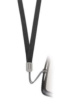 GS184061599 TRU VIRTU PEARL. Шнурок на шею для визитницы PEARL, черный