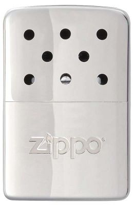 GS184061942 Zippo. Каталитическая грелка ZIPPO, с покрытием High Polish Chrome, серебристая, на 6 ч, 51x15x74 мм