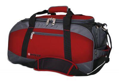 GS184061466 Wenger. Сумка спортивная WENGER, красный/серый/чёрный, полиэстер 1200D, 52х25х30 см, 39 л