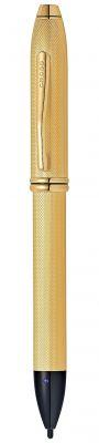 AT0049-42 Стилус-ручка Cross Townsend E-Stylus с электронным кончиком. Цвет - золотистый.
