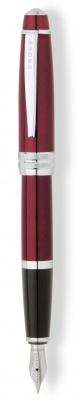 AT0456-8MS Перьевая ручка Cross Bailey. Цвет - красный.