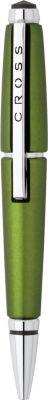 AT0555-4 Ручка-роллер Cross Edge без колпачка . Цвет - зеленый.