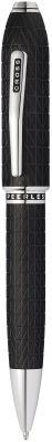 AT0702-8 Шариковая ручка Cross Peerless Citizen LE Tokyo. Цвет - черный.