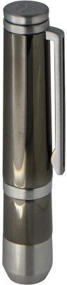 "GR1711131373 CASETI. Пробойник для сигар ""Caseti"", сияющий черный хром, 7,5х1,1х1,8 см"