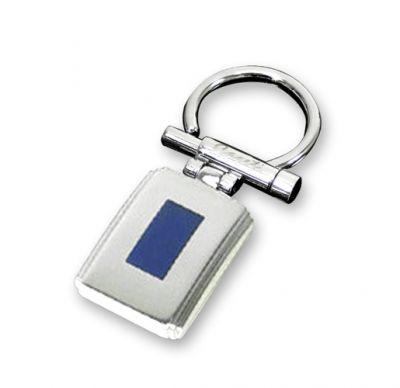 """GR1711137 CASETI Элегантные мужские украшения. Брелок """"Caseti"""", сталь с матовым покрытием + эмаль, 6,3 x 2,6 x 0,4 см"""