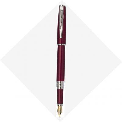 PCA1563FP Перьевая ручка Pierre Cardin SECRET Business. Корпус и колпачок - латунь и лак. Отделка и детали дизайна - сталь, хром. Цвет - перламутровый красный.