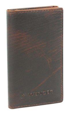 GS184061551 Wenger. Ключница WENGER Rautispitz, коричневый, коровья кожа, 6,5?2,5?10,5 см