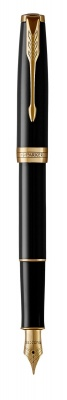 1931494 Перьевая ручка Parker Sonnet Black Lacquer F