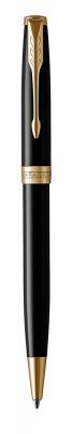 1931497 Шариковая ручка Parker Sonnet , Lacquer Deep Black GT