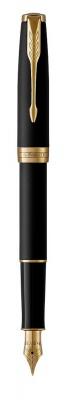 1931516,S0817930 Перьевая ручка Parker Sonnet , Matte Black GT