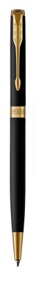 1931520 Шариковая ручка Parker Sonnet Slim , Matte Black GT
